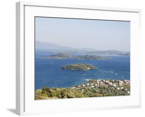 Nidri, Lefkada, Ionian Islands, Greek Islands, Greece, Europe-Robert Harding-Framed Art Print