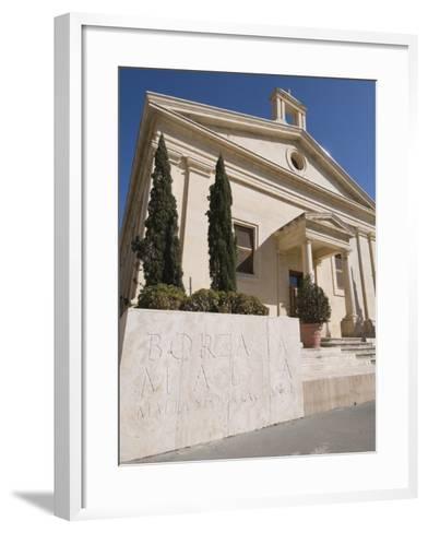 Stock Exchange, Valletta, Malta, Europe-Robert Harding-Framed Art Print