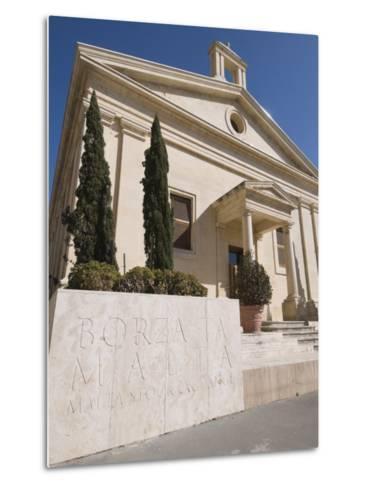 Stock Exchange, Valletta, Malta, Europe-Robert Harding-Metal Print
