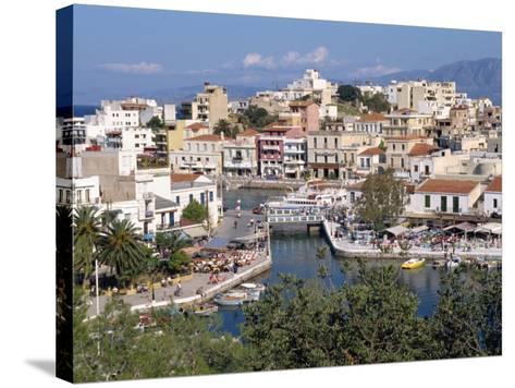 Bottomless Lake, Agios Nikolas, Crete, Greek Islands, Greece, Europe-Robert Harding-Stretched Canvas Print