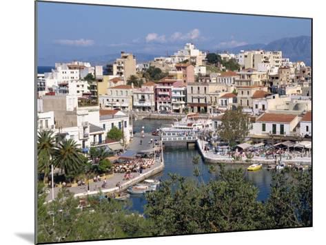Bottomless Lake, Agios Nikolas, Crete, Greek Islands, Greece, Europe-Robert Harding-Mounted Photographic Print