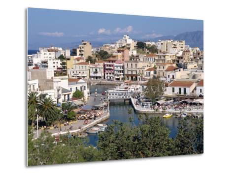 Bottomless Lake, Agios Nikolas, Crete, Greek Islands, Greece, Europe-Robert Harding-Metal Print