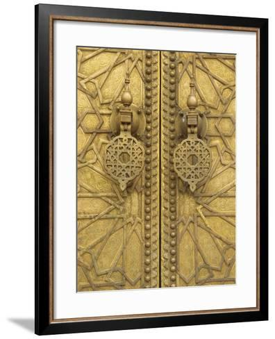 Architectural Detail, Royal Palace, Fez, Morocco, North Africa, Africa-Robert Harding-Framed Art Print
