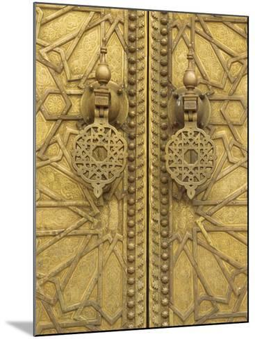 Architectural Detail, Royal Palace, Fez, Morocco, North Africa, Africa-Robert Harding-Mounted Photographic Print