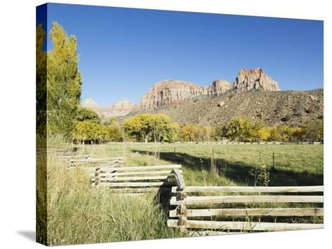 Landscape Near Zion National Park, Utah, United States of America, North America-Robert Harding-Stretched Canvas Print