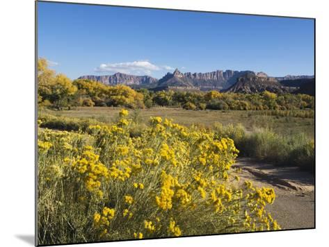 Landscape Near Zion National Park, Utah, United States of America, North America-Robert Harding-Mounted Photographic Print