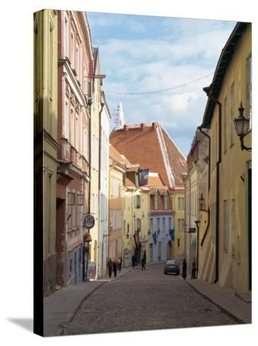 Old Town, Tallinn, Estonia, Baltic States, Europe-Harding Robert-Stretched Canvas Print