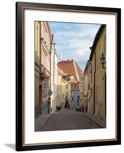 Old Town, Tallinn, Estonia, Baltic States, Europe-Harding Robert-Framed Art Print