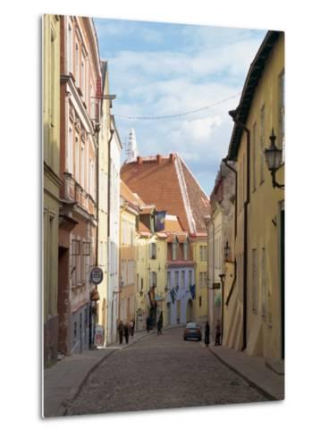 Old Town, Tallinn, Estonia, Baltic States, Europe-Harding Robert-Metal Print