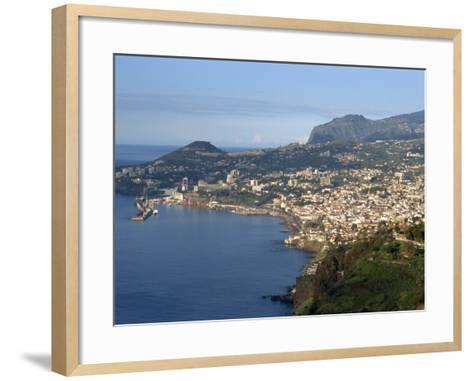 Funchal, Madeira, Portugal, Atlantic, Europe-Harding Robert-Framed Art Print