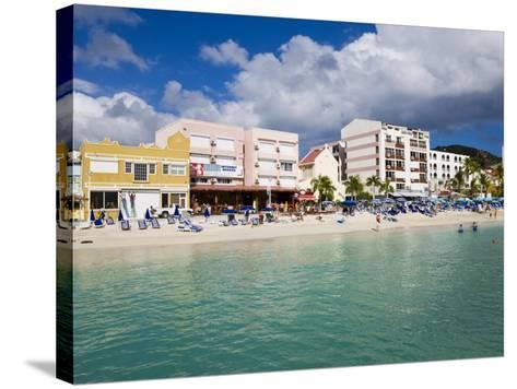 Dutch Capital of Philipsburg, St. Maarten, Netherlands Antilles, Leeward Islands, West Indies-Gavin Hellier-Stretched Canvas Print