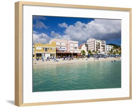 Dutch Capital of Philipsburg, St. Maarten, Netherlands Antilles, Leeward Islands, West Indies-Gavin Hellier-Framed Art Print