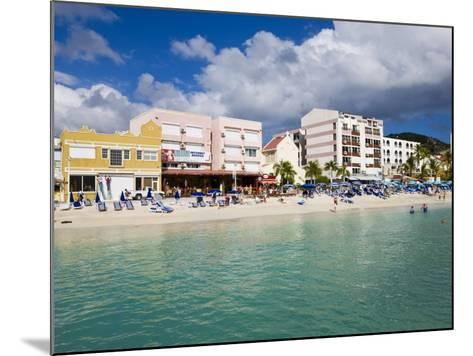 Dutch Capital of Philipsburg, St. Maarten, Netherlands Antilles, Leeward Islands, West Indies-Gavin Hellier-Mounted Photographic Print