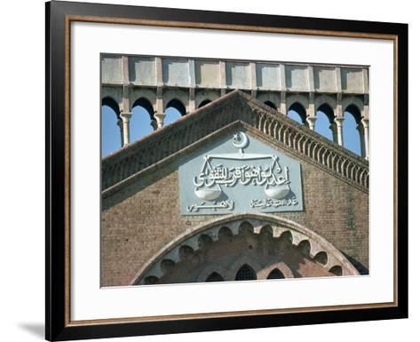 Detail, Law Courts, Lahore, Pakistan-Harding Robert-Framed Art Print