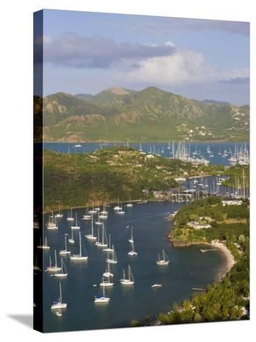 English Harbour from Shirley Heights, Antigua, Leeward Islands, West Indies-Gavin Hellier-Stretched Canvas Print