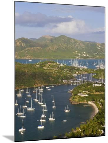 English Harbour from Shirley Heights, Antigua, Leeward Islands, West Indies-Gavin Hellier-Mounted Photographic Print