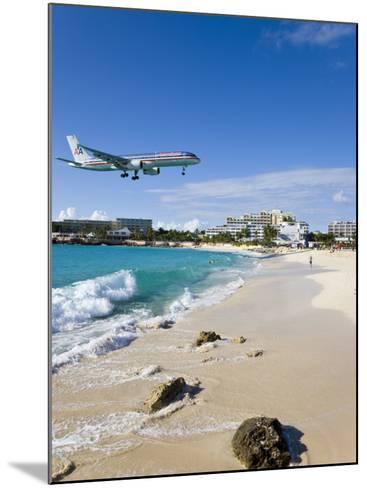 Beach at Maho Bay, St. Martin, Leeward Islands, West Indies-Gavin Hellier-Mounted Photographic Print