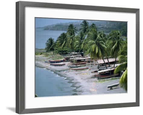 St. Pierre, Martinique, Lesser Antilles, West Indies, Caribbean, Central America-Harding Robert-Framed Art Print