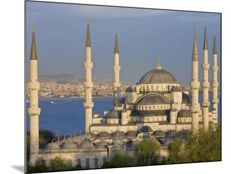 Blue Mosque in Sultanahmet, Overlooking the Bosphorus, Istanbul, Turkey-Gavin Hellier-Mounted Photographic Print