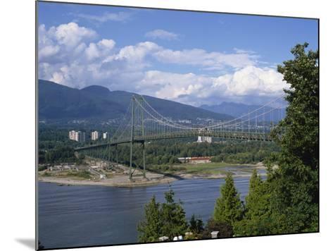 Lions Gate Bridge, Vancouver, British Columbia, Canada, North America-Harding Robert-Mounted Photographic Print