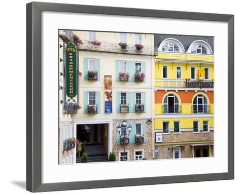 New Modern Housing in the Trendy Podil District of the City, Kiev, UKraine, Europe-Gavin Hellier-Framed Art Print