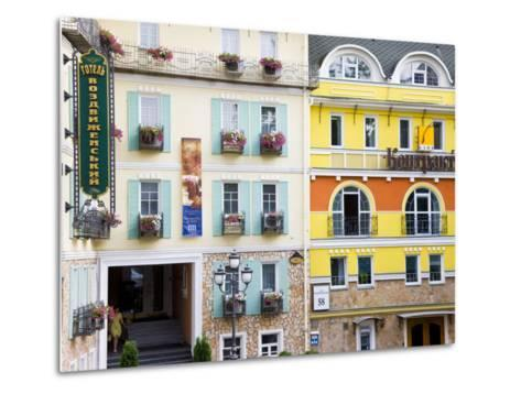 New Modern Housing in the Trendy Podil District of the City, Kiev, UKraine, Europe-Gavin Hellier-Metal Print