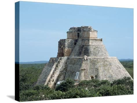 Uxmal, UNESCO World Heritage Site, Yucatan, Mexico, North America-Harding Robert-Stretched Canvas Print