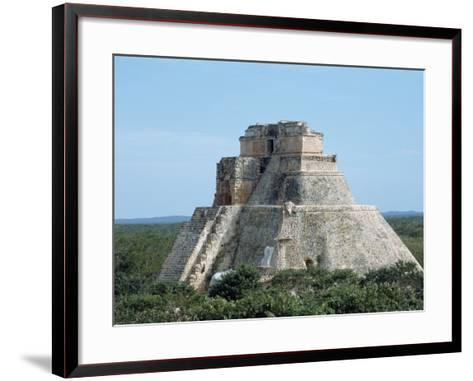 Uxmal, UNESCO World Heritage Site, Yucatan, Mexico, North America-Harding Robert-Framed Art Print