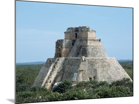 Uxmal, UNESCO World Heritage Site, Yucatan, Mexico, North America-Harding Robert-Mounted Photographic Print