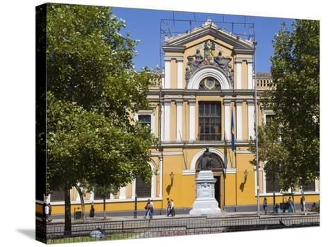 Universidad De Chile, Santiago, Chile, South America-Gavin Hellier-Stretched Canvas Print
