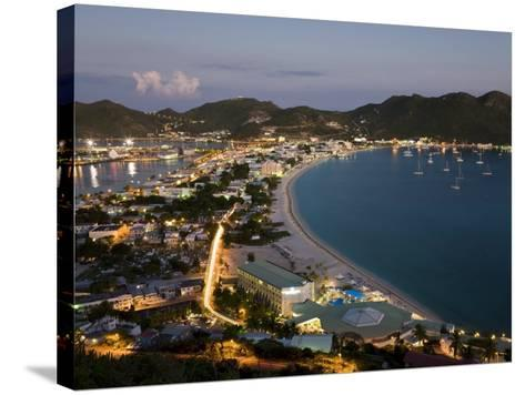 Great Bay and the Dutch Capital of Philipsburg, St. Maarten, Netherlands Antilles, West Indies-Gavin Hellier-Stretched Canvas Print
