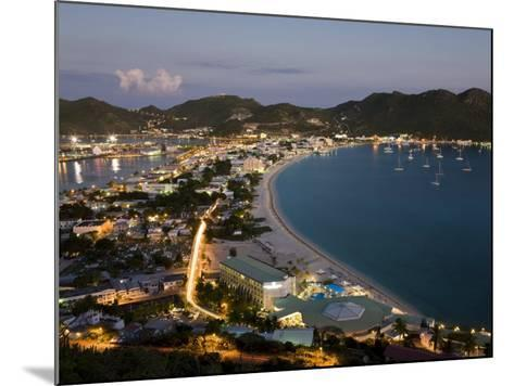 Great Bay and the Dutch Capital of Philipsburg, St. Maarten, Netherlands Antilles, West Indies-Gavin Hellier-Mounted Photographic Print