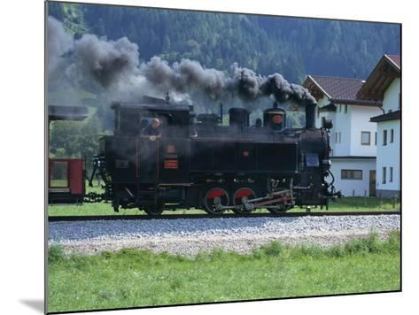 Steam Train, Ziller Valley, the Tirol, Austria, Europe-Gavin Hellier-Mounted Photographic Print