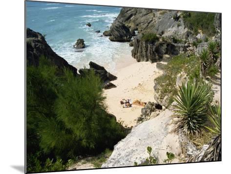 South Coast Beach, Bermuda, Atlantic Ocean, Central America-Harding Robert-Mounted Photographic Print