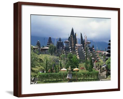 Besakih Temple, Bali, Indonesia, Southeast Asia-Harding Robert-Framed Art Print