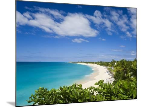 Jolly Harbour and Jolly Beach, Antigua, Leeward Islands, West Indies, Caribbean-Gavin Hellier-Mounted Photographic Print