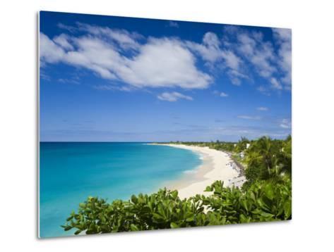Jolly Harbour and Jolly Beach, Antigua, Leeward Islands, West Indies, Caribbean-Gavin Hellier-Metal Print