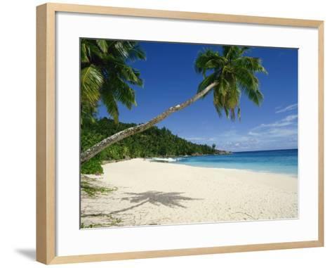 Anse Intedance, Mahe, Seychelles, Indian Ocean, Africa-Harding Robert-Framed Art Print