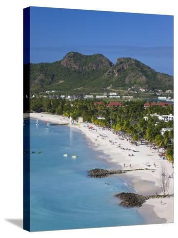 Jolly Harbour and Jolly Beach, Antigua, Leeward Islands, West Indies, Caribbean-Gavin Hellier-Stretched Canvas Print