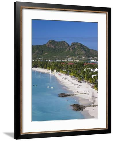 Jolly Harbour and Jolly Beach, Antigua, Leeward Islands, West Indies, Caribbean-Gavin Hellier-Framed Art Print