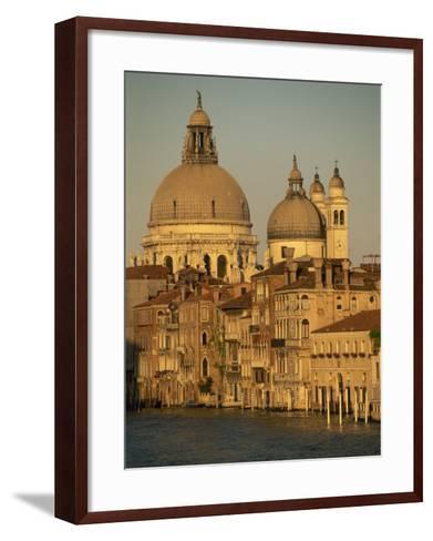 Church of Santa Maria Della Salute, Seen across the Grand Canal, Venice, Veneto, Italy-Gavin Hellier-Framed Art Print