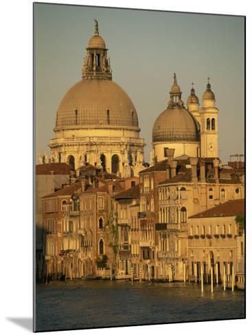 Church of Santa Maria Della Salute, Seen across the Grand Canal, Venice, Veneto, Italy-Gavin Hellier-Mounted Photographic Print