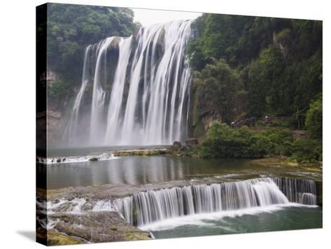 Huangguoshu Waterfall Largest in China 81M Wide and 74M High, Guizhou Province, China-Kober Christian-Stretched Canvas Print