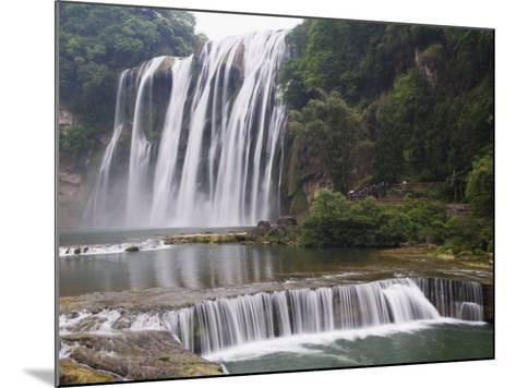 Huangguoshu Waterfall Largest in China 81M Wide and 74M High, Guizhou Province, China-Kober Christian-Mounted Photographic Print