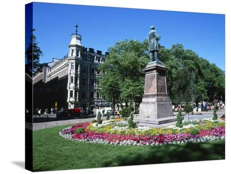 City Centre Park in the Summer, Helsinki, Finland, Scandinavia, Europe-Gavin Hellier-Stretched Canvas Print