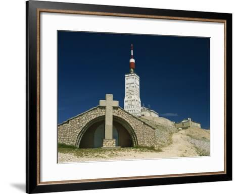 Summit of Mont Ventoux in Vaucluse, Provence, France, Europe-David Hughes-Framed Art Print
