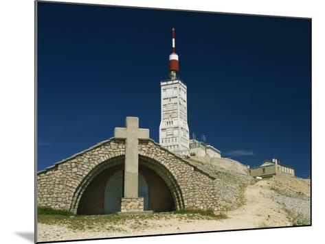 Summit of Mont Ventoux in Vaucluse, Provence, France, Europe-David Hughes-Mounted Photographic Print