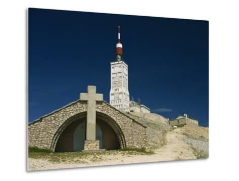 Summit of Mont Ventoux in Vaucluse, Provence, France, Europe-David Hughes-Metal Print