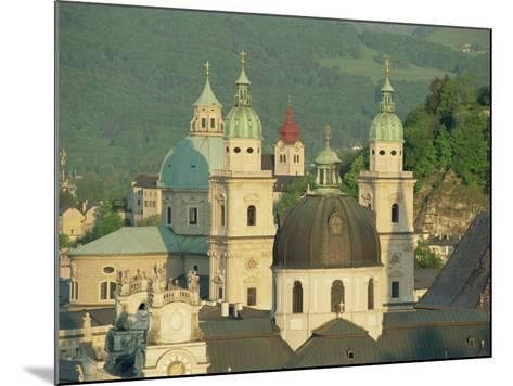 Kollegienkirche and Cathedral Domes, Salzburg, Austria, Europe-Gavin Hellier-Mounted Photographic Print