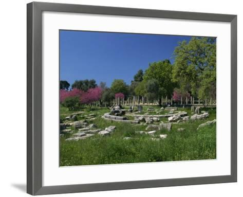 Archaeological Site of Olympia, Birthplace of the First Olympic Games in 776 BC, Greece-Gavin Hellier-Framed Art Print